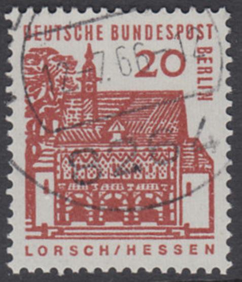BERLIN 1964 Michel-Nummer 244 gestempelt EINZELMARKE (v)