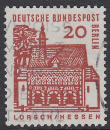 BERLIN 1964 Michel-Nummer 244 gestempelt EINZELMARKE (n)