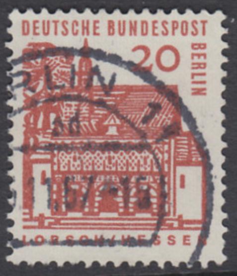 BERLIN 1964 Michel-Nummer 244 gestempelt EINZELMARKE (u)