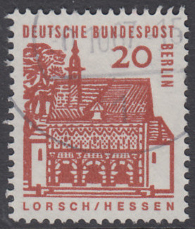 BERLIN 1964 Michel-Nummer 244 gestempelt EINZELMARKE (t)