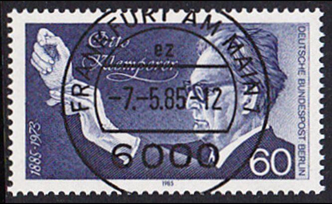 BERLIN 1985 Michel-Nummer 739 gestempelt EINZELMARKE (b)