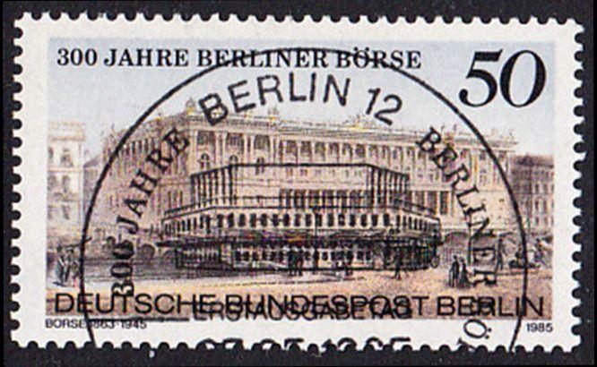BERLIN 1985 Michel-Nummer 740 gestempelt EINZELMARKE (d)
