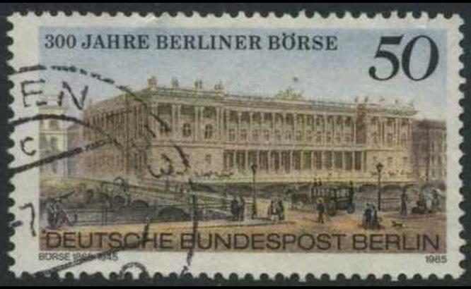 BERLIN 1985 Michel-Nummer 740 gestempelt EINZELMARKE (f)