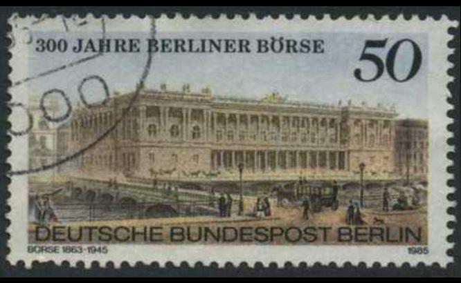 BERLIN 1985 Michel-Nummer 740 gestempelt EINZELMARKE (g)
