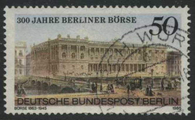 BERLIN 1985 Michel-Nummer 740 gestempelt EINZELMARKE (e)