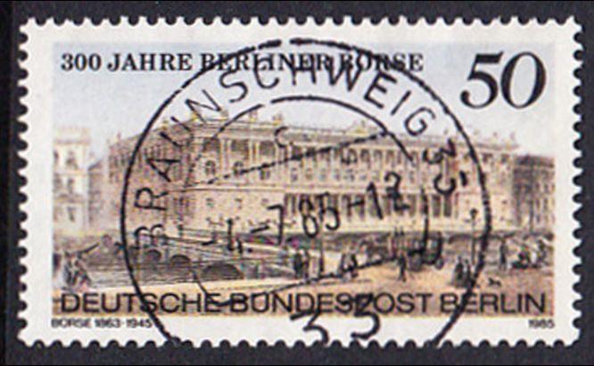 BERLIN 1985 Michel-Nummer 740 gestempelt EINZELMARKE (a)