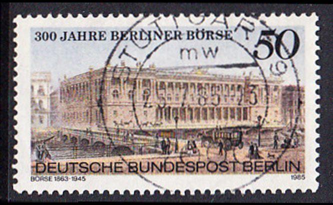 BERLIN 1985 Michel-Nummer 740 gestempelt EINZELMARKE (b)