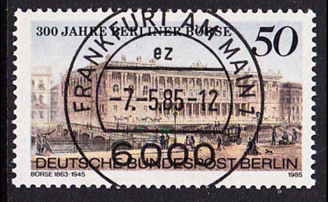 BERLIN 1985 Michel-Nummer 740 gestempelt EINZELMARKE (c)