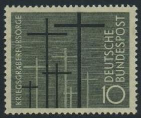 BUND 1956 Michel-Nummer 0248 postfrisch EINZELMARKE