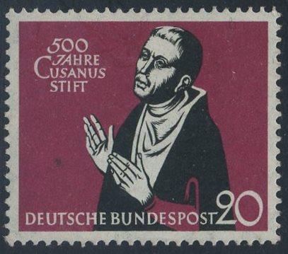 BUND 1958 Michel-Nummer 0301 postfrisch EINZELMARKE