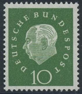 BUND 1959 Michel-Nummer 0303 postfrisch EINZELMARKE
