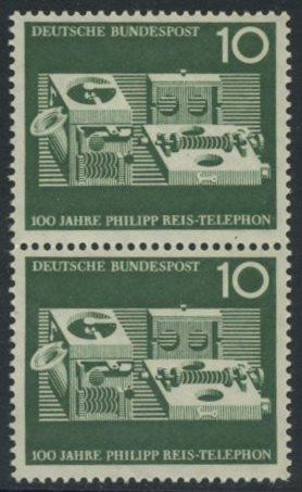 BUND 1961 Michel-Nummer 0373 postfrisch vert.PAAR