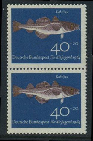 BUND 1964 Michel-Nummer 0415 postfrisch vert.PAAR