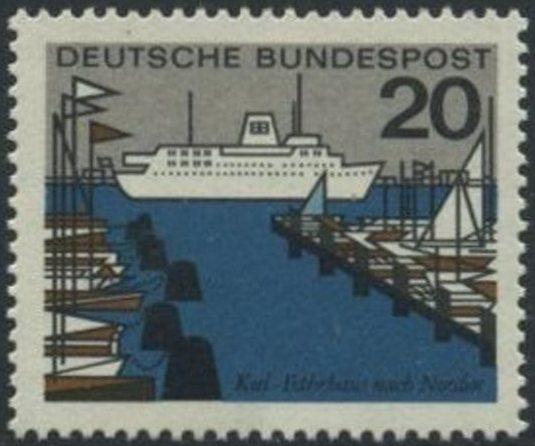 BUND 1964 Michel-Nummer 0418 postfrisch EINZELMARKE