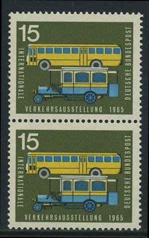 BUND 1965 Michel-Nummer 0470 postfrisch vert.PAAR