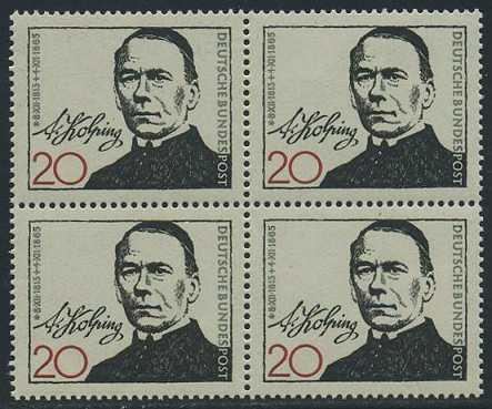 BUND 1965 Michel-Nummer 0477 postfrisch BLOCK