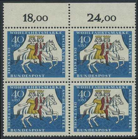 BUND 1965 Michel-Nummer 0488 postfrisch BLOCK RÄNDER oben