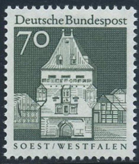 BUND 1966 Michel-Nummer 0497 postfrisch EINZELMARKE