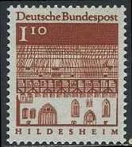 BUND 1966 Michel-Nummer 0501 postfrisch EINZELMARKE