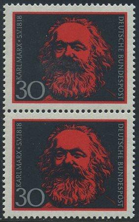 BUND 1968 Michel-Nummer 0558 postfrisch vert.PAAR