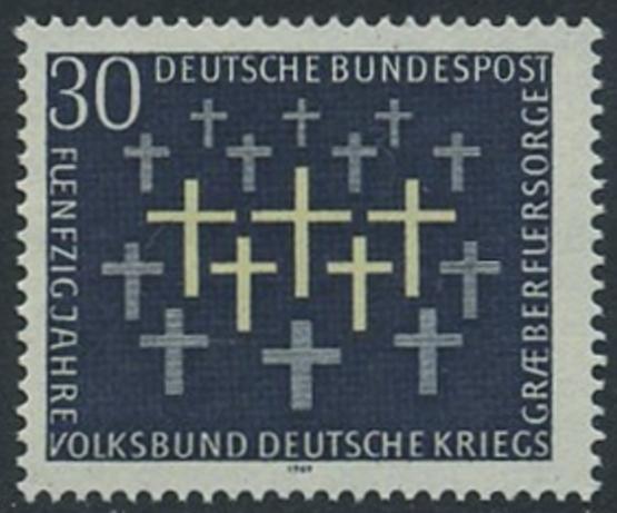 BUND 1969 Michel-Nummer 0586 postfrisch EINZELMARKE