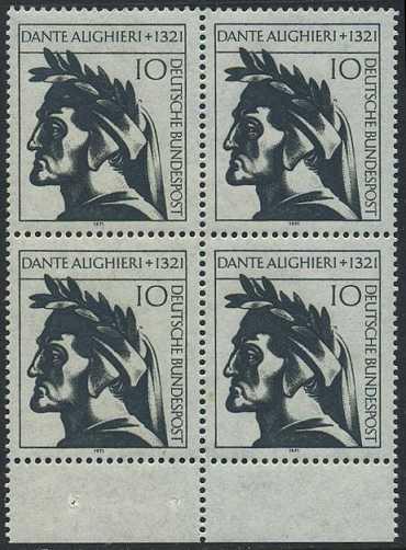 BUND 1971 Michel-Nummer 0693 postfrisch BLOCK RÄNDER unten