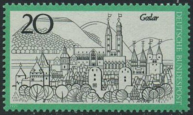 BUND 1971 Michel-Nummer 0704 postfrisch EINZELMARKE