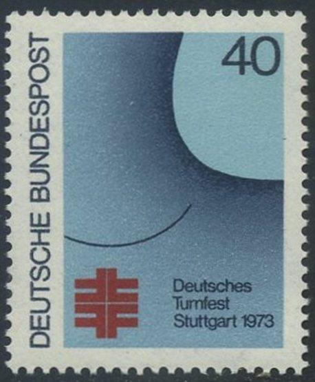 BUND 1973 Michel-Nummer 0763 postfrisch EINZELMARKE