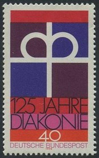 BUND 1974 Michel-Nummer 0810 postfrisch EINZELMARKE