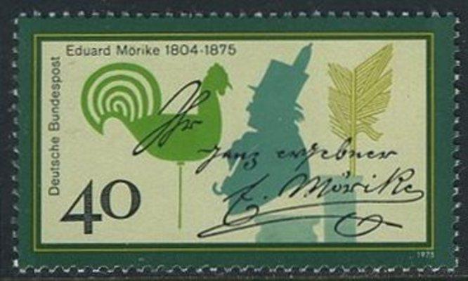 BUND 1975 Michel-Nummer 0842 postfrisch EINZELMARKE 0