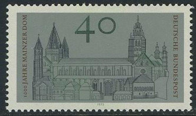 BUND 1975 Michel-Nummer 0845 postfrisch EINZELMARKE 0