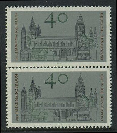 BUND 1975 Michel-Nummer 0845 postfrisch vert.PAAR 0