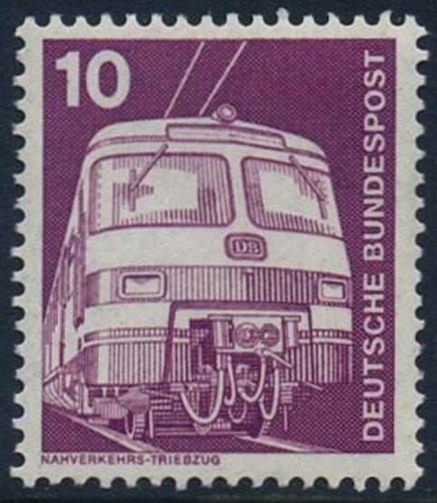 BUND 1975 Michel-Nummer 0847 postfrisch EINZELMARKE