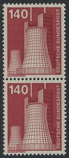 BUND 1975 Michel-Nummer 0856 postfrisch vert.PAAR 0