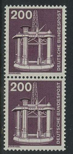BUND 1975 Michel-Nummer 0858 postfrisch vert.PAAR