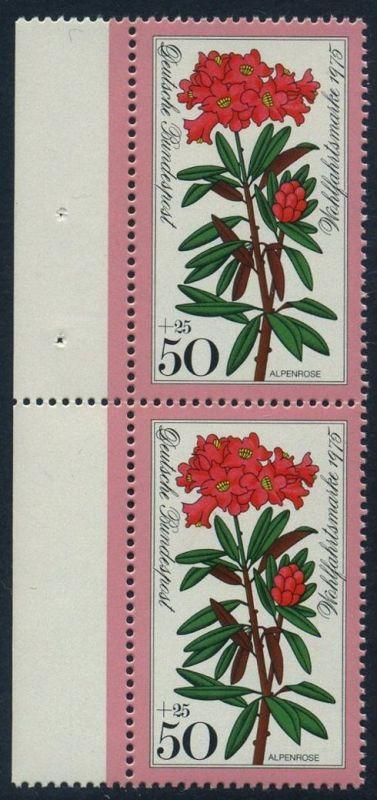 BUND 1975 Michel-Nummer 0869 postfrisch vert.PAAR RAND links 0