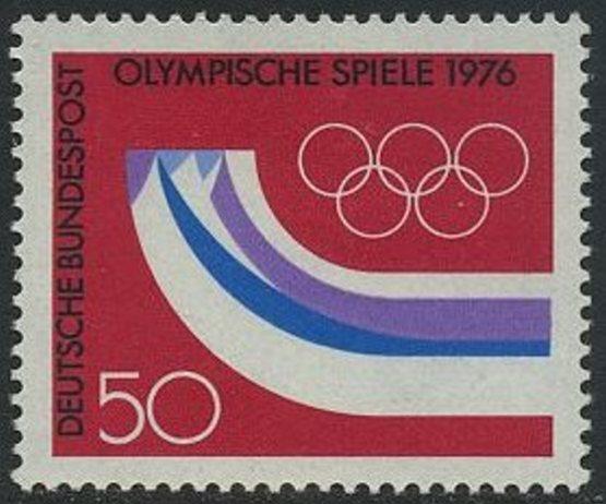 BUND 1976 Michel-Nummer 0875 postfrisch EINZELMARKE