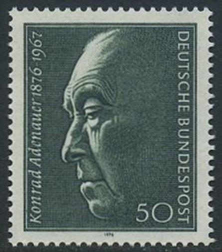 BUND 1976 Michel-Nummer 0876 postfrisch EINZELMARKE