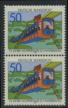 BUND 1976 Michel-Nummer 0881 postfrisch vert.PAAR