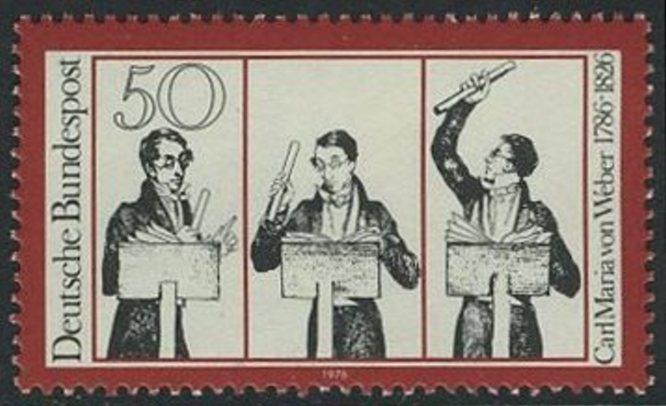 BUND 1976 Michel-Nummer 0894 postfrisch EINZELMARKE
