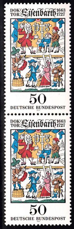BUND 1977 Michel-Nummer 0953 postfrisch vert.PAAR