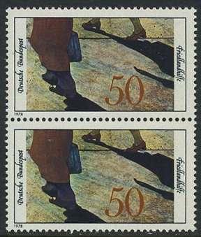 BUND 1978 Michel-Nummer 0957 postfrisch vert.PAAR