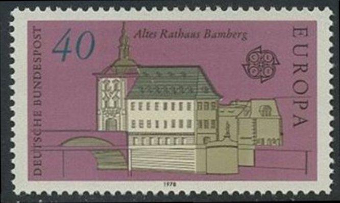 BUND 1978 Michel-Nummer 0969 postfrisch EINZELMARKE