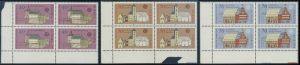BUND 1978 Michel-Nummer 0969-0971 postfrisch SATZ(3) BLÖCKE ECKRAND unten links
