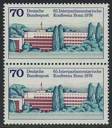 BUND 1978 Michel-Nummer 0976 postfrisch vert.PAAR