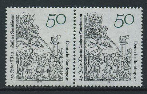 BUND 1979 Michel-Nummer 1016 postfrisch horiz.PAAR