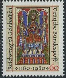 BUND 1980 Michel-Nummer 1045 postfrisch EINZELMARKE
