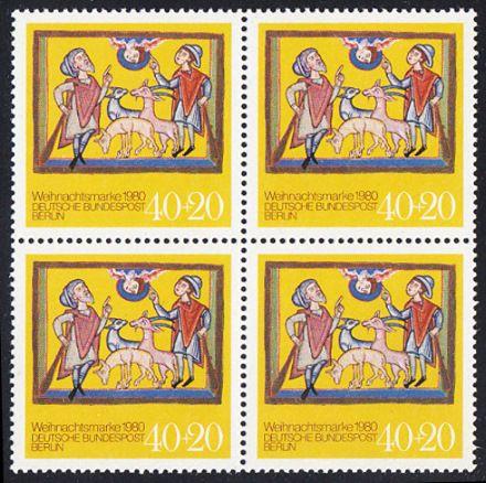BUND 1980 Michel-Nummer 1066 postfrisch BLOCK
