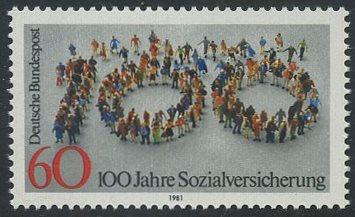 BUND 1981 Michel-Nummer 1116 postfrisch EINZELMARKE