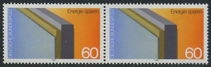BUND 1982 Michel-Nummer 1119 postfrisch horiz.PAAR